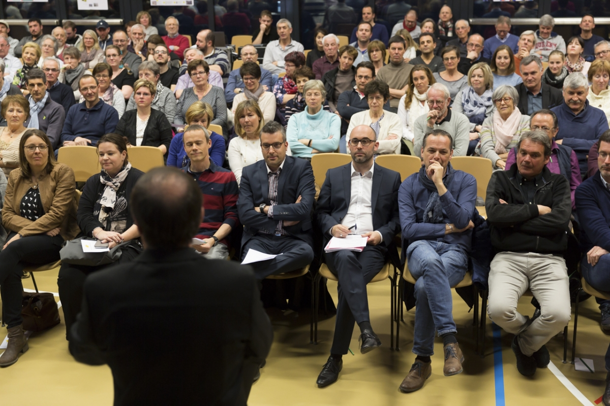 Veyras - Rencontre citoyenne 28.03.2018 - Photo Michel Zobrist